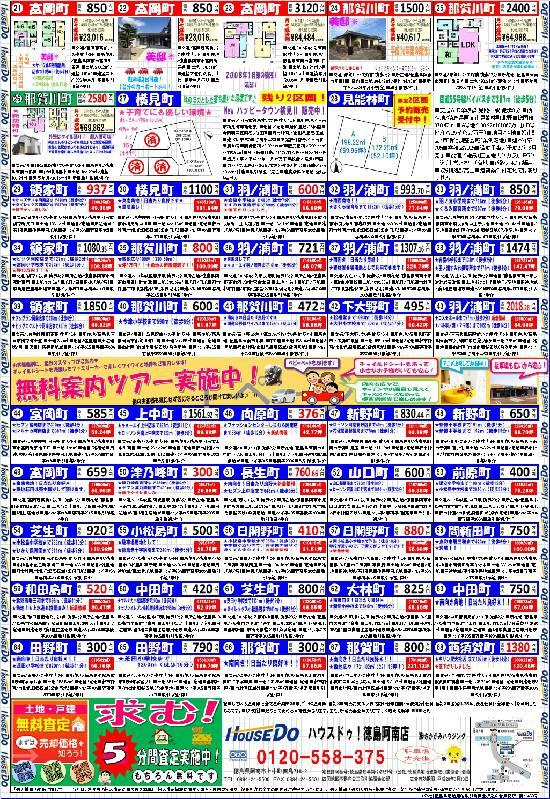 2016年2月の折り込みチラシとイベント情報(裏面)☆