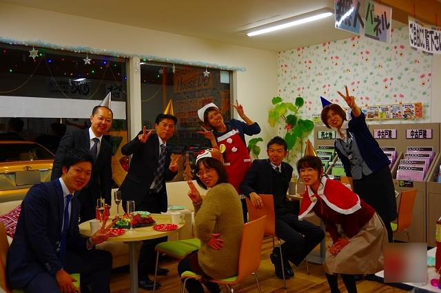クリスマスパーティー①